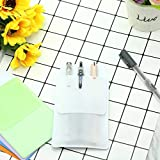XVSGE 6PCS White Pocket Protector for School