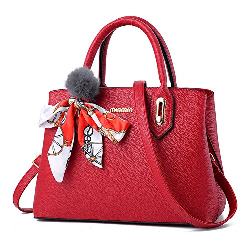 Women For Shoulder Ladies Burgundy Bag Bags Messenger Casual Bag Zonlin Laptop nwWvxWF