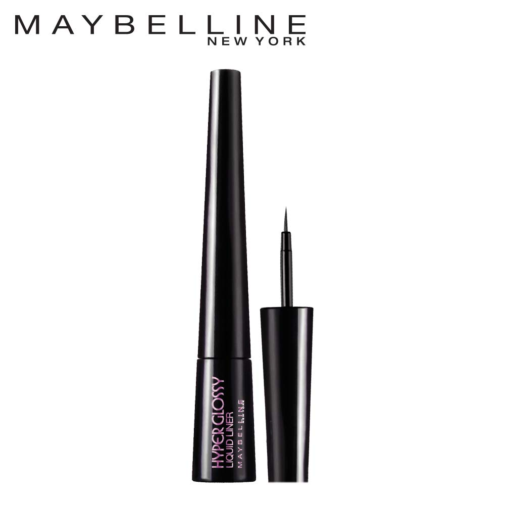 6a2f5982b83 Buy Maybelline Hyper Glossy Liquid Liner, Black, 3g Online at Low Prices in  India - Amazon.in