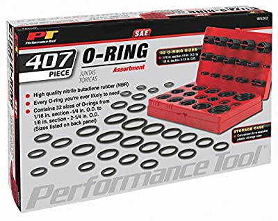 Performance Tool Performance Tool W5214 Rubber Grommet Assortment, 125-Piece from Wilmar Performance Tool