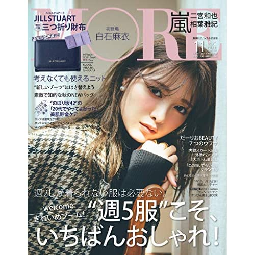 MORE 2018年11月号 増刊 画像