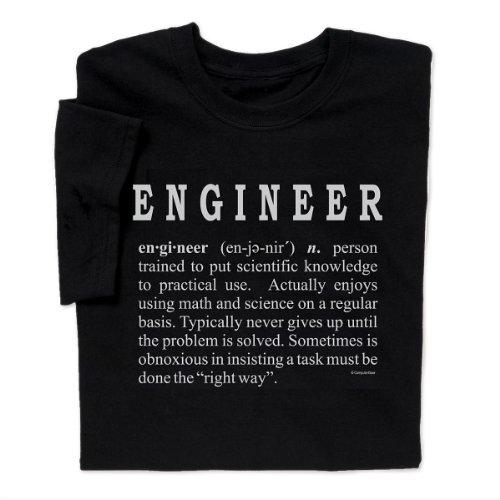 ComputerGear Engineer Definition T-shirt