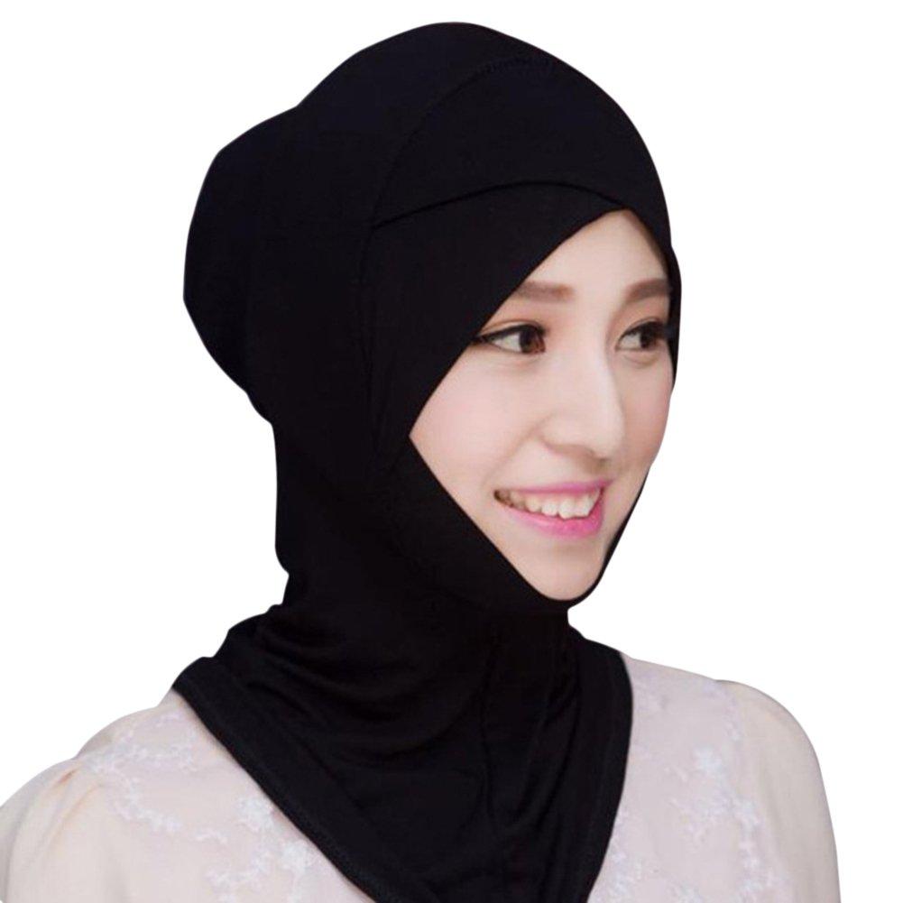 Musulmane Dubai Islamique Hijab Khimar Hijab Turban Islamique Hijab I Modal Abaya Hijab Turban pour V/êtements Musulmans Miyanuby Hijab Femme