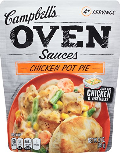 (Campbell's Oven Sauces, Chicken Pot Pie, 12 Ounce (Packaging May Vary))