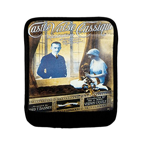 Castle Valse Classique Old Music Poster Luggage Handle Wrap Finder by Style in Print