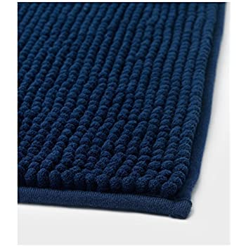 Amazoncom Ikea Toftbo Dark Blue Bath Mat Home Kitchen