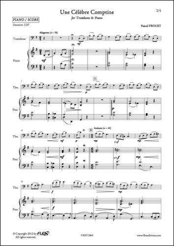 BALADE EN PRIGORD Trombone Partitions classique ROBERT MARTIN CREPIN A