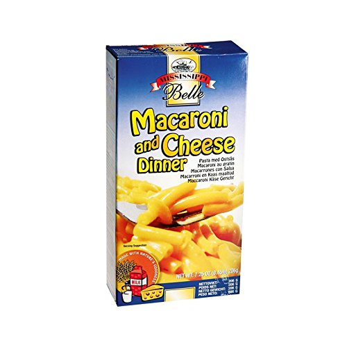 Mississippi Belle Macaroni and Cheese dinner: Amazon.es: Alimentación y bebidas