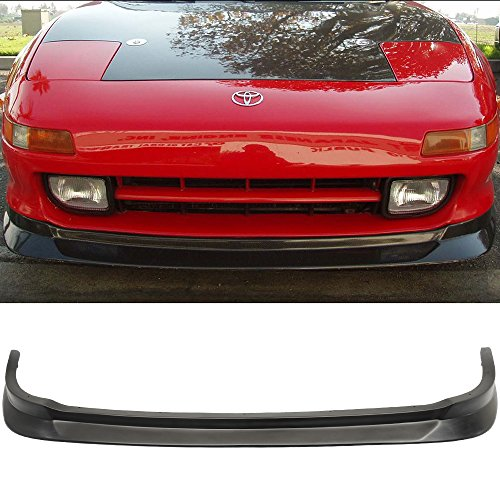 Front Bumper Lip Fits 1991-1999 Toyota MR2 | Black PU Front Lip Finisher Under Chin Spoiler Add On by IKON MOTORSPORTS | 1992 1993 1994 1995 1996 1997 1998 (Motor Toyota Mr2)