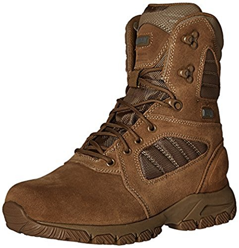 Magnum Men's Response Iii 8.0 Side Zip Military and Tactical Boot, 11 D US, Coyote