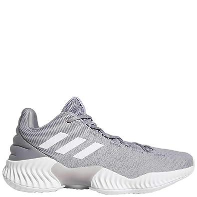 b04d04b82 adidas Pro Bounce 2018 Low Shoe - Men s Basketball 4.5 Light Onix White