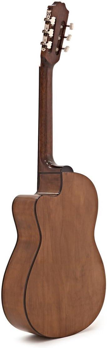 Guitarra Española Deluxe Single Cutaway de Gear4music: Amazon.es ...