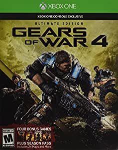 Gears of War 4: Ultimate Edition (Includes SteelBook + Season Pass + Early Access) - Xbox One