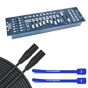 Chauvet Obey 40 - DMX Lighting Controller w/ 25' DMX Cable & Cable Ties