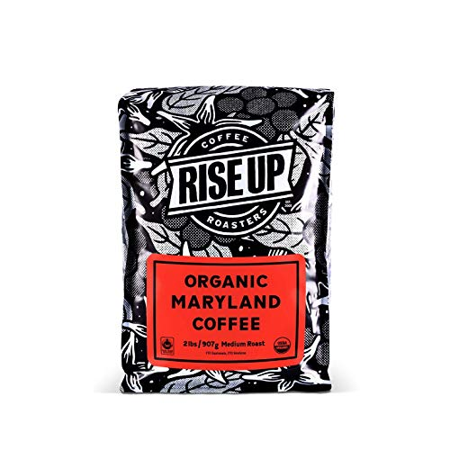 Organic Maryland, Certified Fair Trade Organic Coffee, 2 Pound, Whole Bean (Organic Maryland)