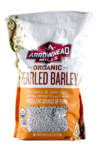 Arrowhead Mills Pearled Barley, 28-Ounce Packages (Pack of 6)