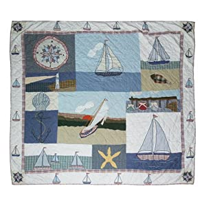 51umheaqlvL._SS300_ Beach Quilts & Nautical Quilts & Coastal Quilts