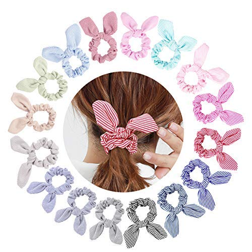 Large Bow Hair tie for kids Girl/'s Bow hair tie Large girl/'s Bow Scrunchie Handmade Scrunchie
