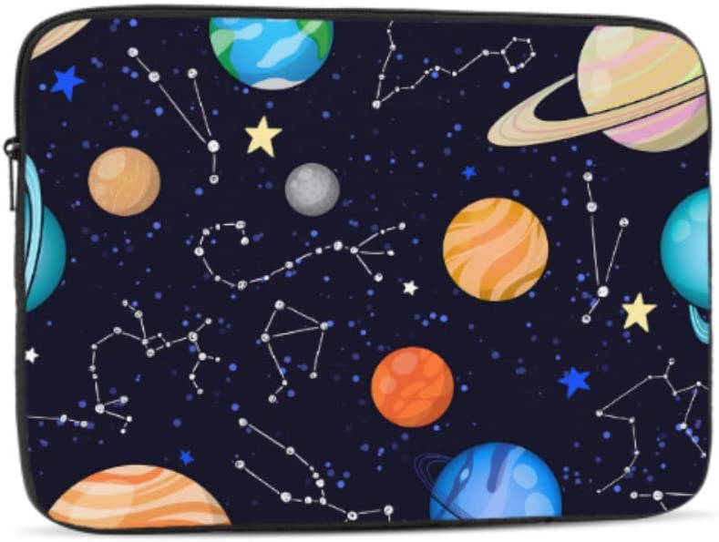 Amazing Solar System Space Pattern Neoprene Sleeve Pouch Case Bag for 11.6 Inch Laptop Computer Designed to Fit Any Laptop//Notebook//ultrabook//MacBook with Display Size 11.6 Inches