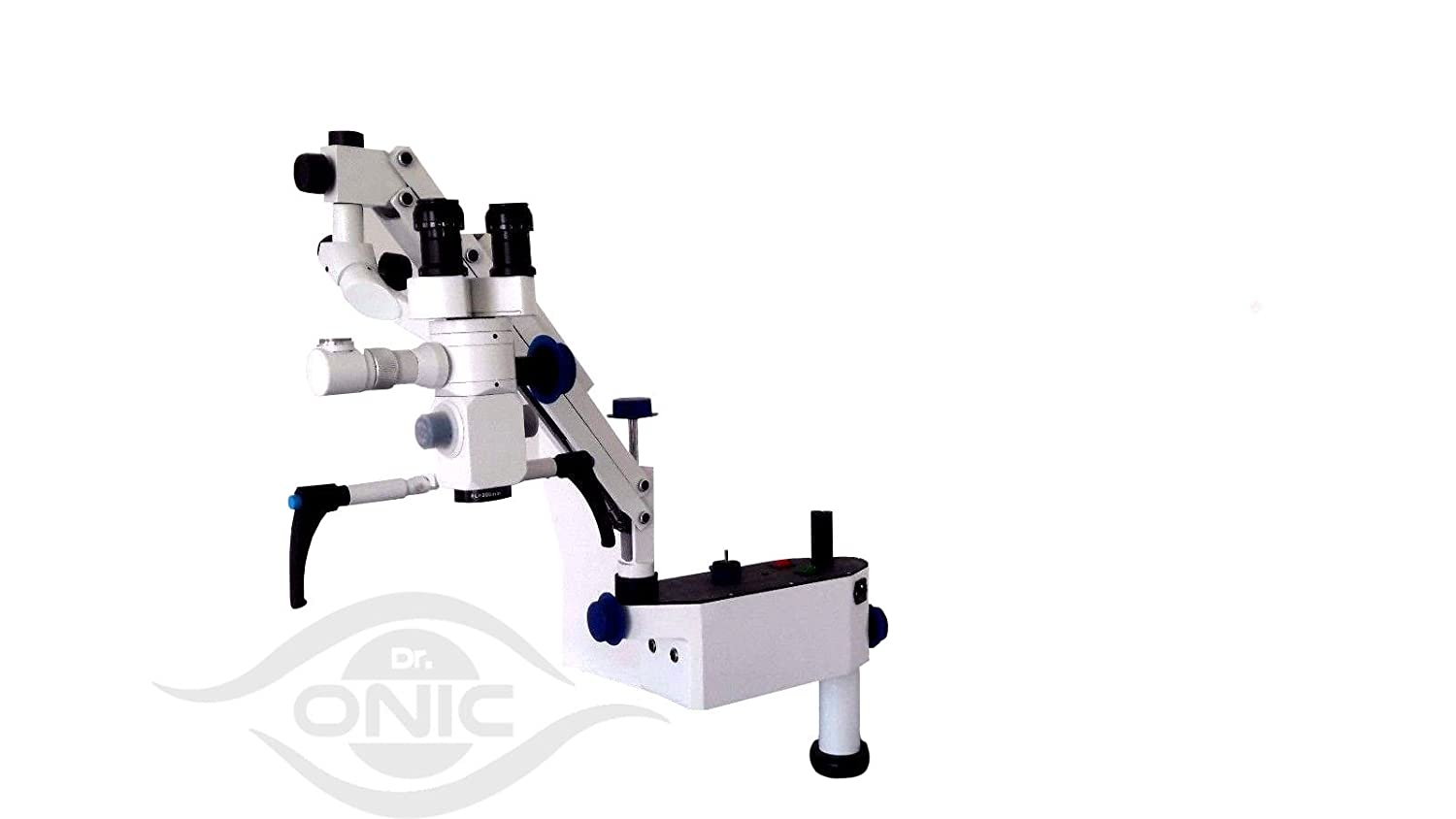 Wall Mount Ophthalmic Operating Microscope 3 Step,0-180/° Inclinable Binoculars with Advanced LED Illumination ISO CE Dr.Onic