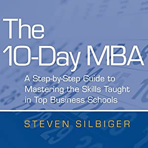 The 10-Day MBA Audiobook