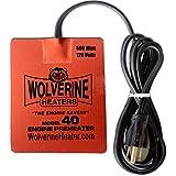 Wolverine Heaters - Model 40 - 500 Watts - Engine Oil, Reservoir, Biofuel and Hydraulic Fluid Heater - 120 Volts