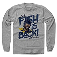 500 LEVEL's Mike Fisher Long Sleeve Shirt - Nashville Hockey Fan Gear - Mike Fisher Fish Is Back
