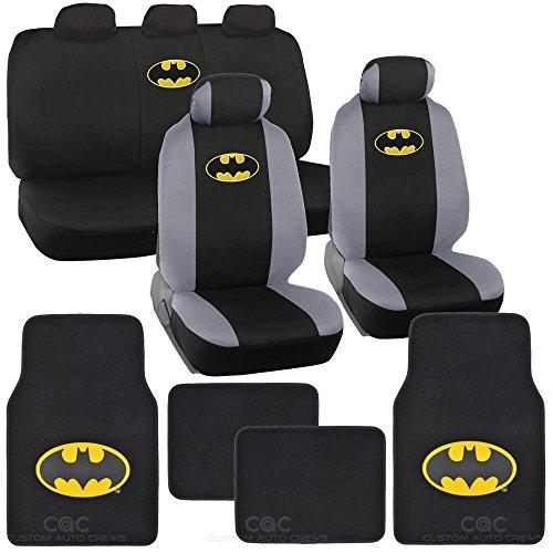 Batman Seat Cover Floor Mat For Car
