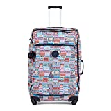 Kipling Women's Darcey Large Printed Wheeled Luggage, Hlloweeked
