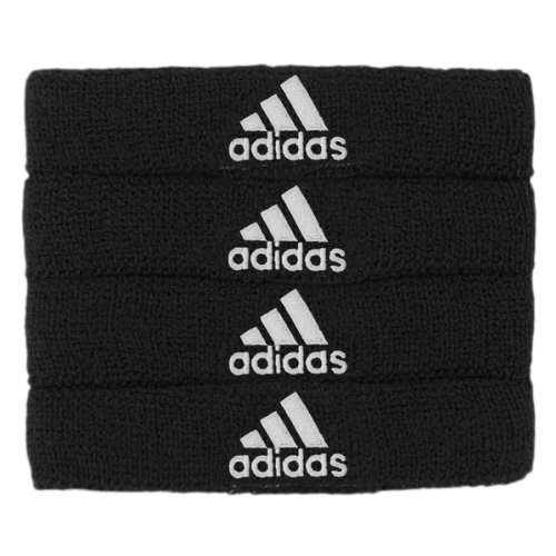 adidas Interval 3/4-inch Bicep Band, Black/White, One Size Fits (Glove Band)