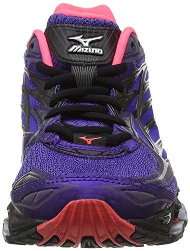 Nova para Prophecy Running Liberty Wave Morado Mujer Zapatillas Mizuno W Black de 6 Silver 1StwWq8