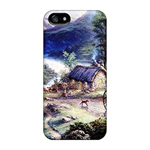 Brand New 5/5s Defender Case For Iphone (country Scene) by runtopwell