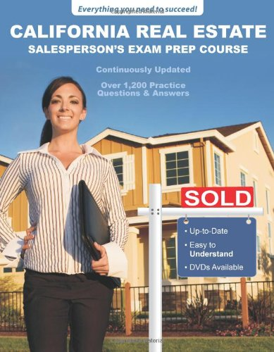 California Real Estate Salesperson's Exam Prep Course