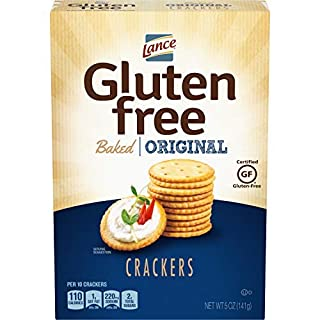 Lance Gluten Free Baked Crackers, Original, 5 Ounce (Pack of 4)-SET OF 3