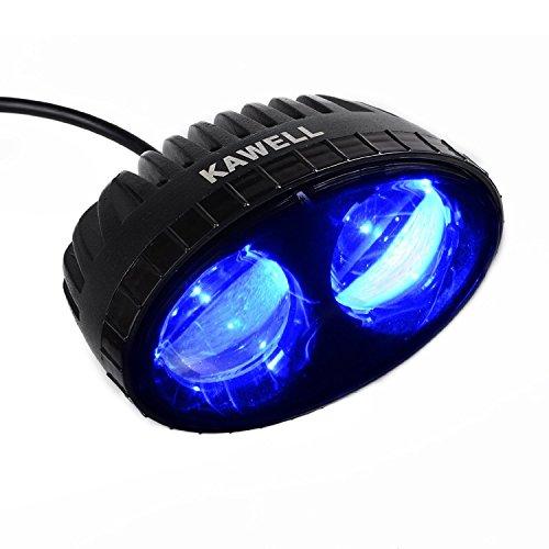Led Fork Lift Lights : Kawell k w cree blue led forklift safety light spot