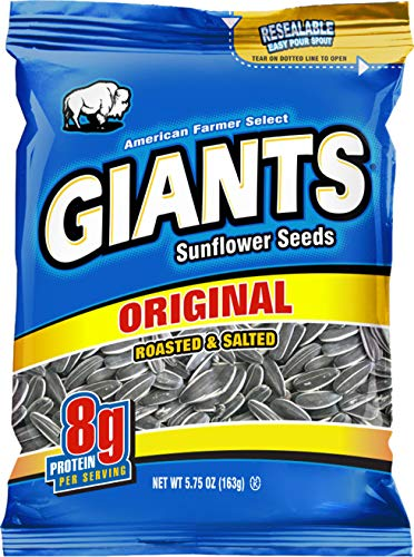 (GIANTS Original Salted Sunflower Seeds 5.75-Ounce Bags (Pack of)