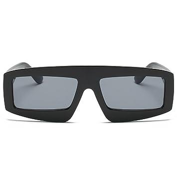 Amazon.com: Gafas de sol con marco de metal para hombres y ...