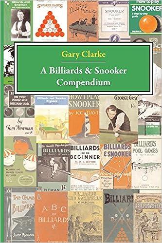 Descarga gratuita A Billiards And Snooker Compendium PDF