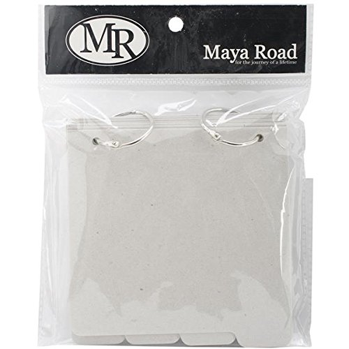 Maya Road C2716 Chipboard Album with Tabs, 5 by ()