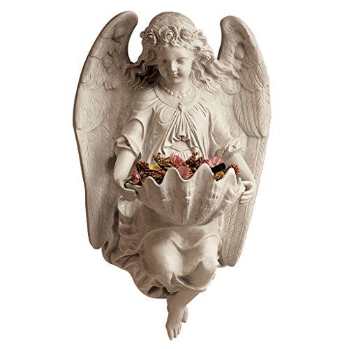 Design Toscano Brixton Abbey Angel Wall Sculpture (Garden Angel Wall)