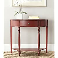 Safavieh American Homes Collection David Dark Brown Console Table