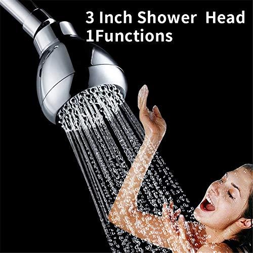 MYTT Shower Head Rainfall High Pressure Shower Bath Head Filter Water Saving Shower Heads for SPA Bathroom Picture (Water Saving Shower Head Litres Per Minute)