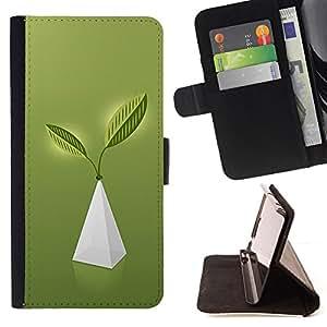 BullDog Case - FOR/LG OPTIMUS L90 / - / Pyramid of Life /- Monedero de cuero de la PU Llevar cubierta de la caja con el ID Credit Card Slots Flip funda de cuer