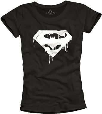 Camiseta Superheroes Mujer