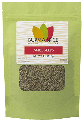 Anise Seeds Dried & Whole Spice : Loose Leaf Herbal Tea : KOSHER (4oz.) (Anise Seed Biscotti)