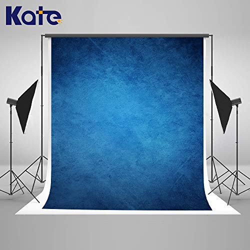 (Kate 5×7ft Seamless Retro Art Light Brown Portrait Photography Backdrop Abstract Photo Background Studio Prop Cotton Cloth)