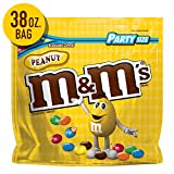 M&M'S Peanut Chocolate Candy, 38-Ounce Party Size Bag