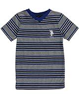"U.S. Polo Assn. Little Boys' ""Swimming Stripes"" T-Shirt"