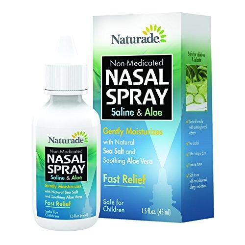 Naturade Saline and Aloe Nasal Spray - 1.5 oz