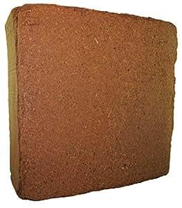MagJo Naturals Compressed Coco Fiber Peat 11-Pound Block, Medium